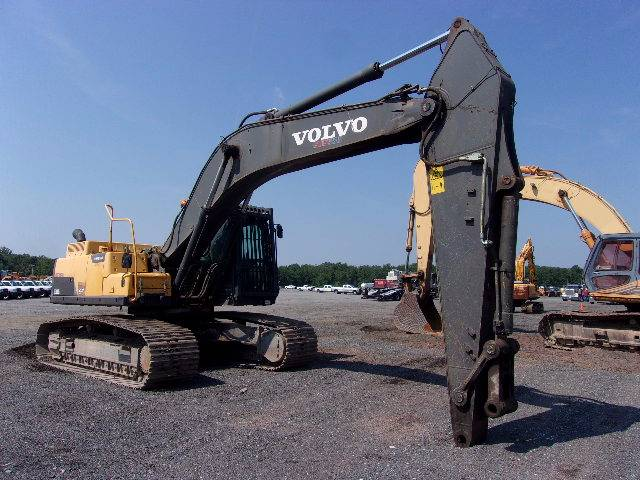 Volvo EC300DL, Crawler Excavators, Construction Equipment