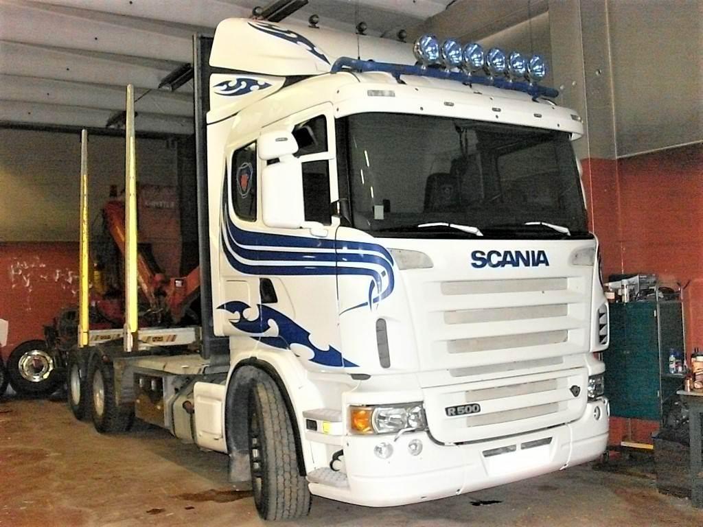 Scania R 500, Timmerbilar, Transportfordon