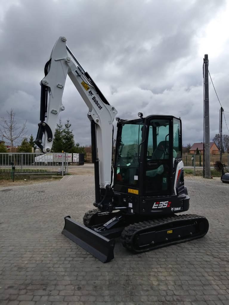 Bobcat E 35 Z DEALER, Mini digger, Construction Equipment