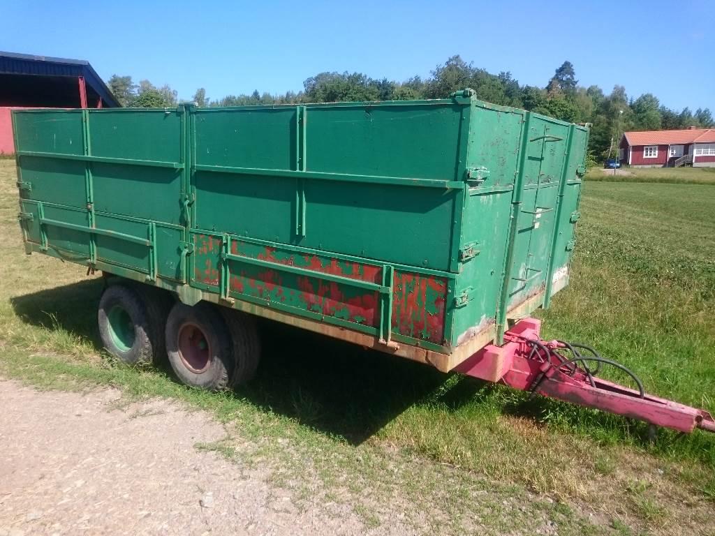 [Other] Metsjövagn 10 ton Spannmålskärra, Spannmålsvagnar, Lantbruk