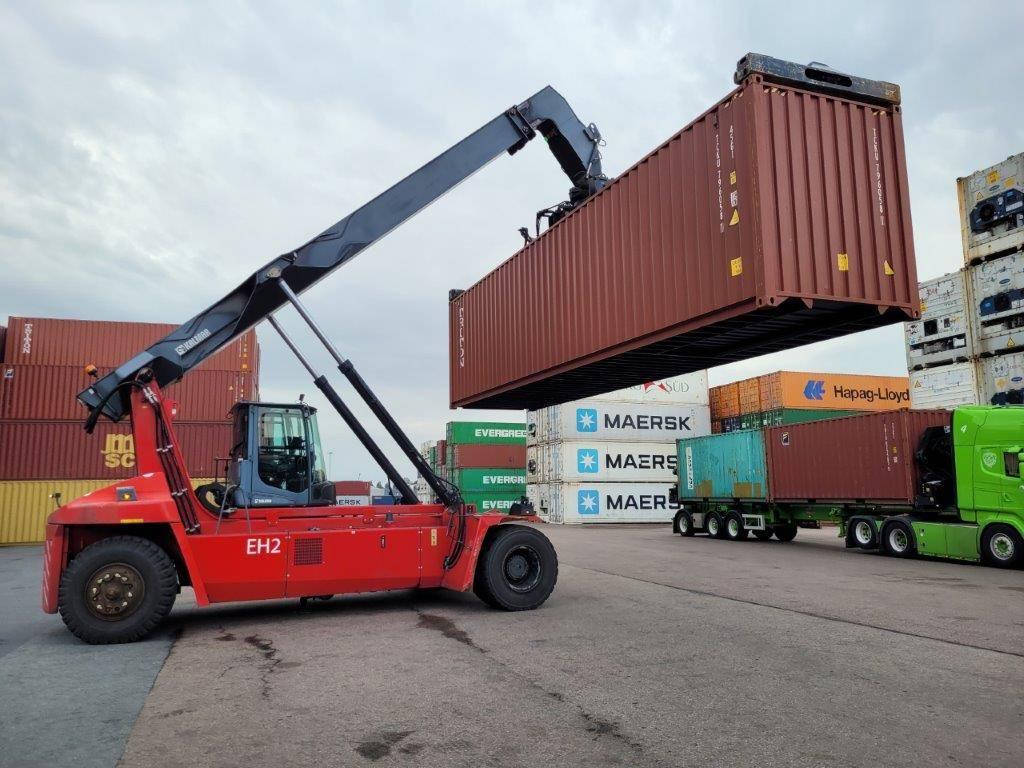 Kalmar DRG100-54S6, Reachstackers, Material Handling