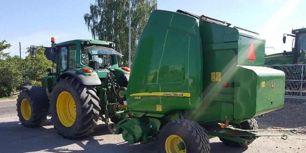 John Deere 864 MaxiCut, Rituļu preses, Lauksaimniecība