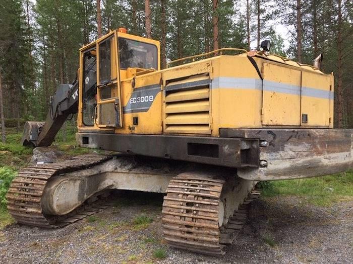 Volvo EC300, Crawler Excavators, Construction Equipment