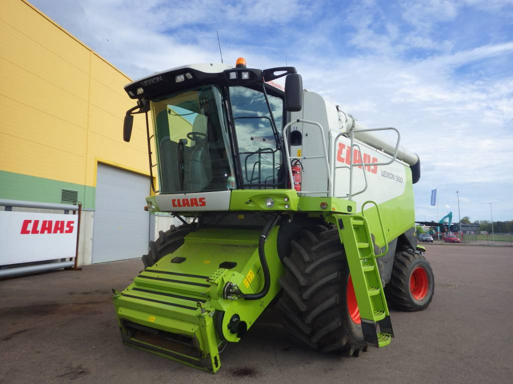CLAAS Lexion 560, Combine harvesters, Agriculture