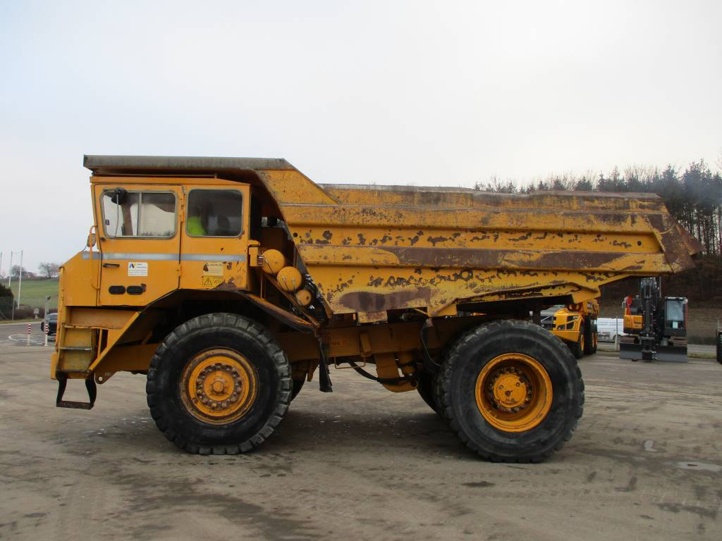 Euclid R36 C, Rigid dump trucks, Construction Equipment