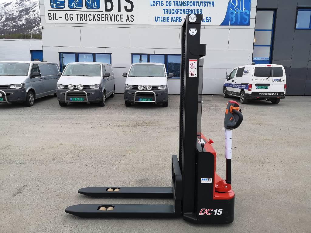 Heli CDD15J M300 - 1,5 tonns ledestabler (SOLGT), Ledestablere, Truck