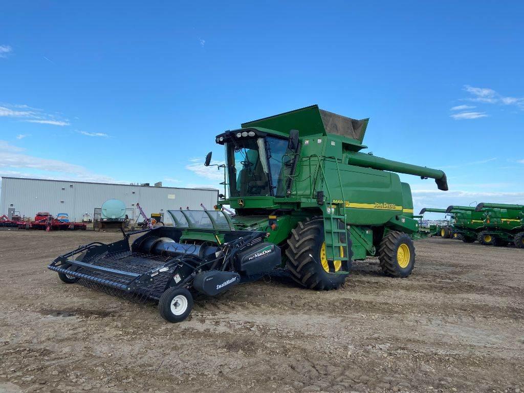 John Deere 9660WTS, Combines, Agriculture