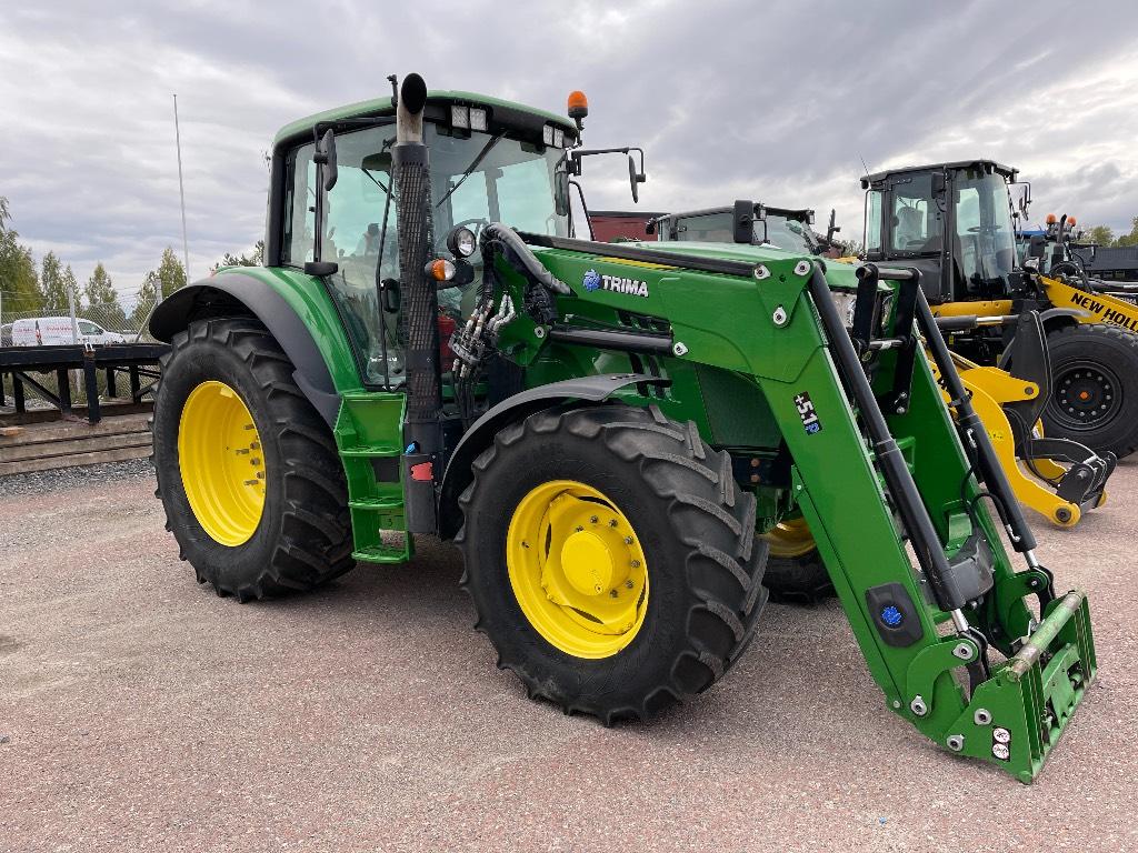 John Deere 6150M TLS, Trima 5.1, Traktorer, Lantbruk