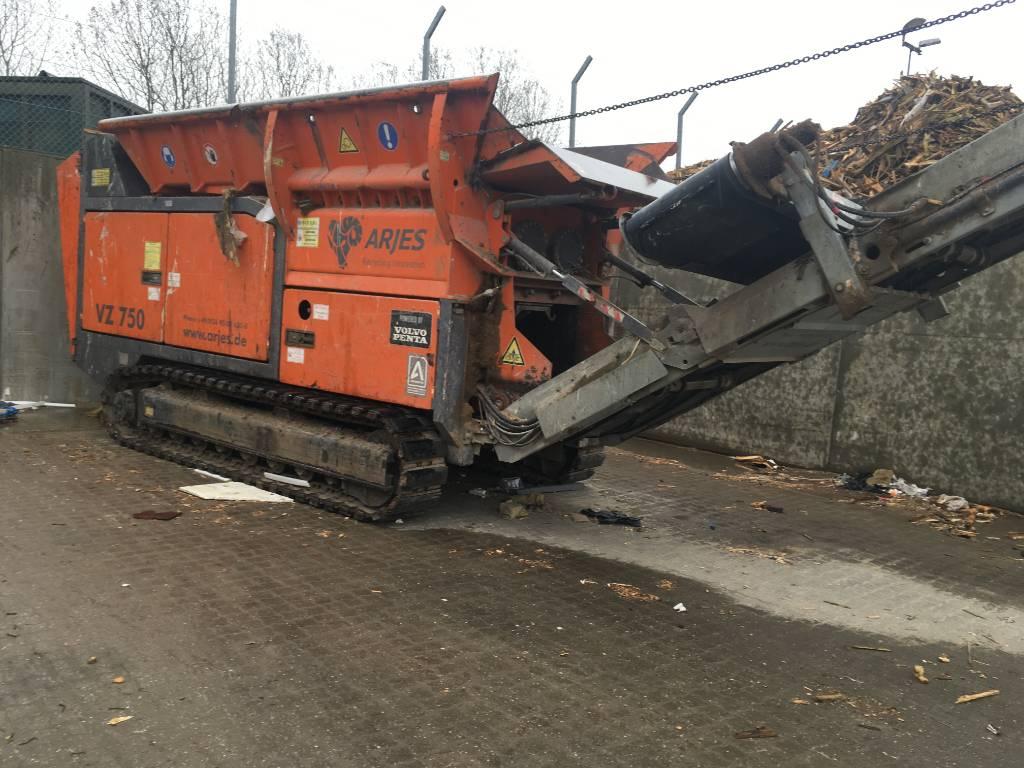 Arjes VZ 750, Construction Crushers, Construction