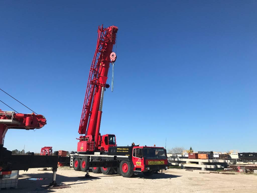 Liebherr LTM 1160-2, All Terrain Cranes and Hydraulic Truck Cranes, Construction Equipment
