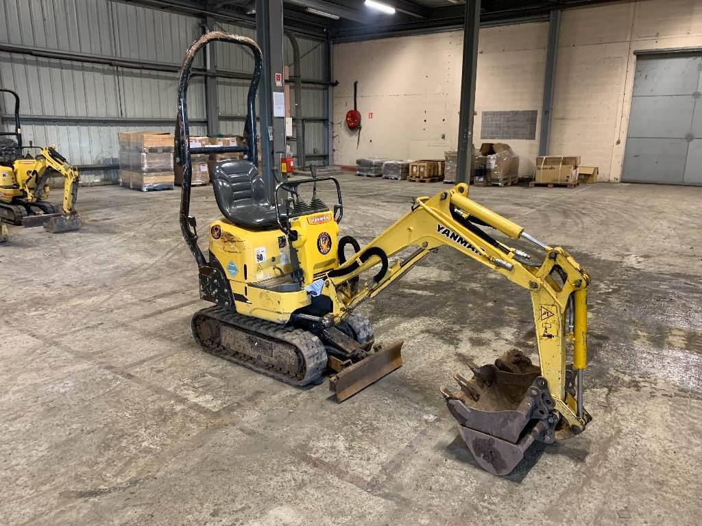 Yanmar SV08, Mini excavators < 7t (Mini diggers), Construction