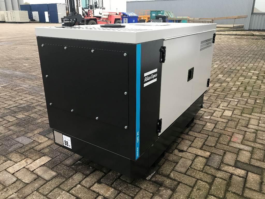 Atlas Copco QIS 25 - 25 kVA Generator - DPX-19402, Diesel generatoren, Bouw