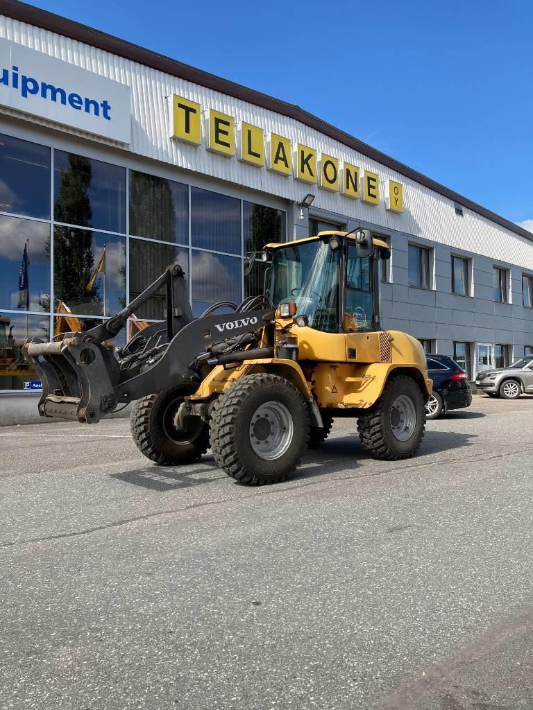 Volvo L 35 B / TULOSSA, Pyöräkuormaajat, Maarakennus