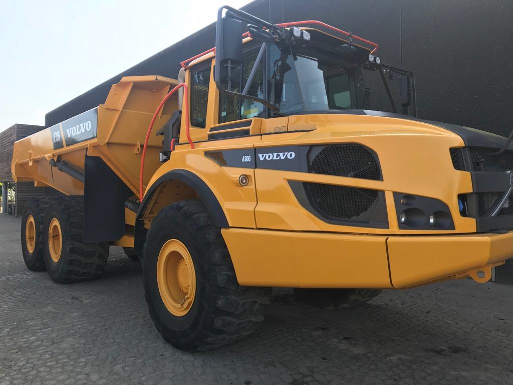 Volvo A 30 G, Terrængående lastbiler, Entreprenør