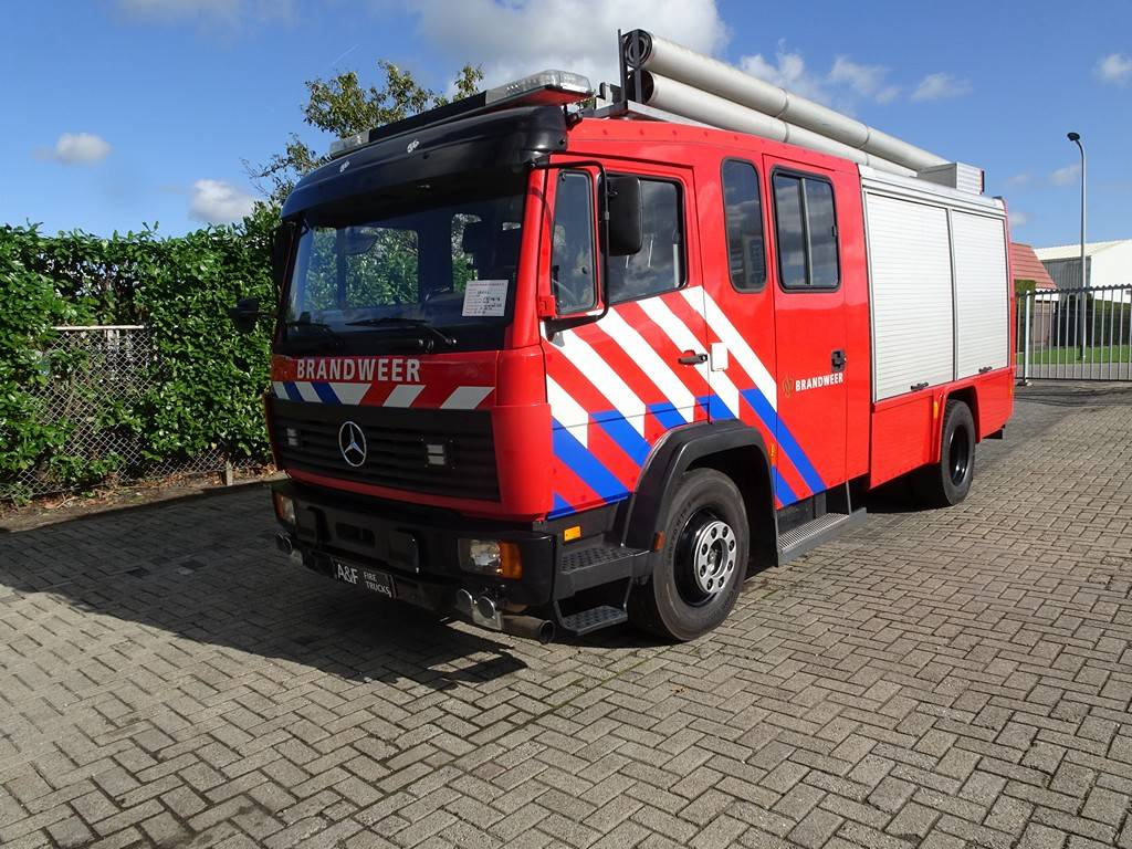 Mercedes Benz 1124  Rosenbauer, Fire trucks, Transportation