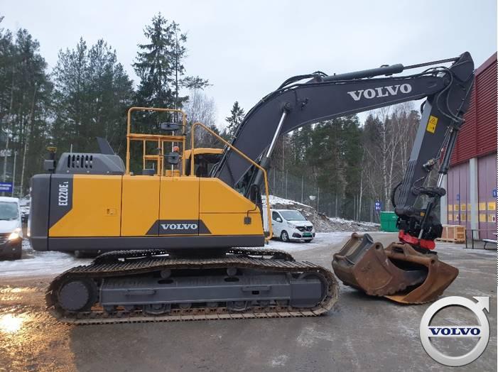 Volvo EC220EL, Crawler Excavators, Construction Equipment