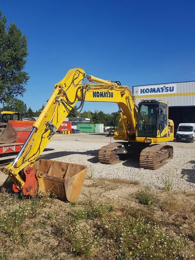 Komatsu PC170LC-10, Crawler excavators, Construction