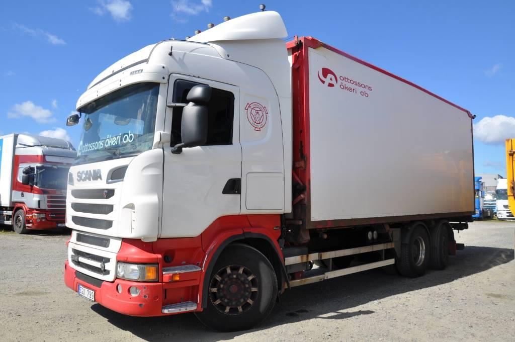 Scania R560 6X2, Flisbilar, Transportfordon