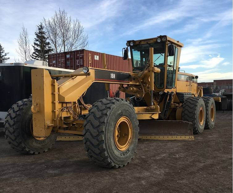 Caterpillar 16H, Motor Graders, Construction Equipment