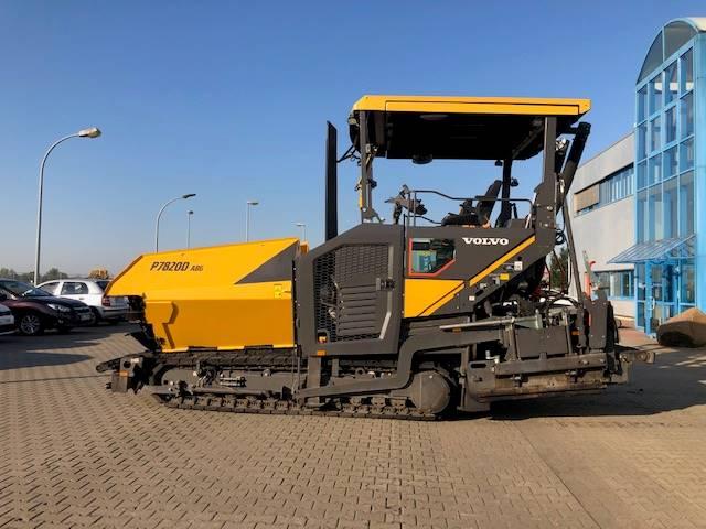 Volvo 7820 D, Asphalt pavers, Construction
