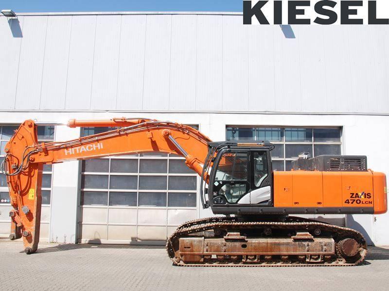 Hitachi ZX 470 LC H-5, Crawler Excavators, Construction Equipment