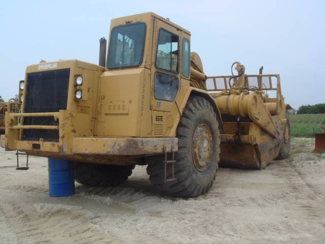 Caterpillar 637E, Scrapers, Construction Equipment