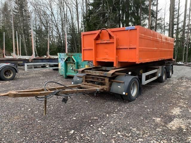 Parator Lastväxlarvagn med tipp, Lastväxlarsläp, Transportfordon
