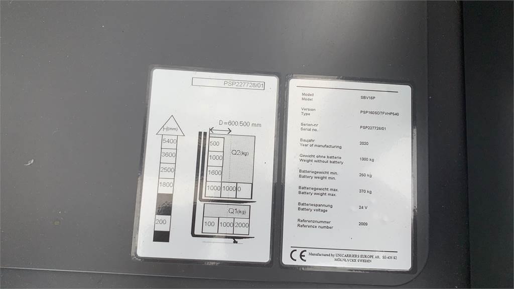 Mitsubishi PSP160SDTFVHP540, Deichselstapler, Flurförderzeuge
