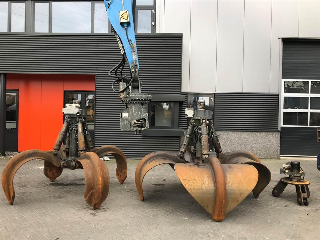 Liebherr MH40 Likufix Coupler set