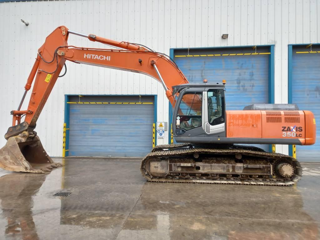 Hitachi ZX 350 LC-3, Crawler Excavators, Construction Equipment