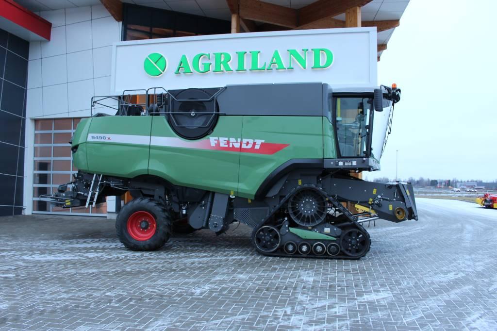 Fendt 9490 X, Kombainid, Põllumajandus