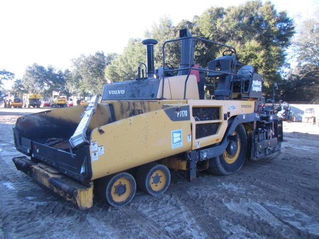 Volvo P7170, Asphalt pavers, Construction Equipment