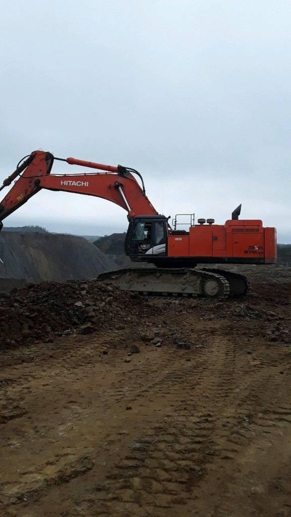 Hitachi ZX 870 LC R-5 B, Crawler Excavators, Construction Equipment
