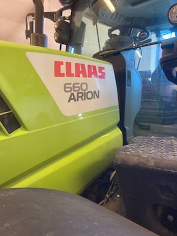 CLAAS ARION 660 CIS, Traktorer, Lantbruk