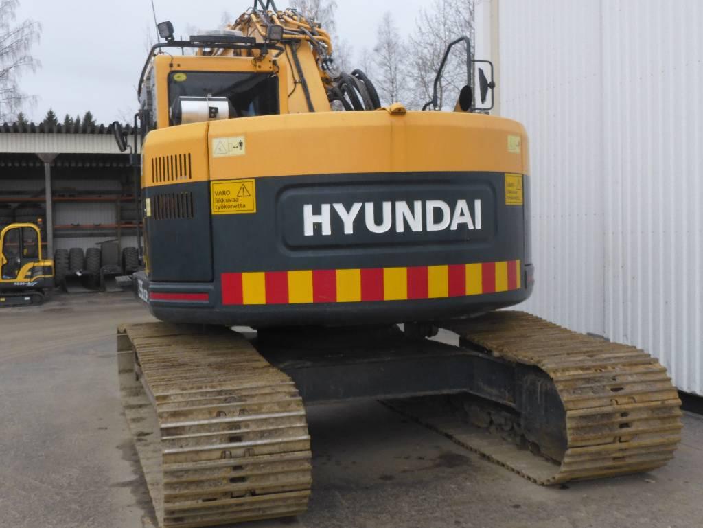 Hyundai R 235 LCR-9, Telakaivukoneet, Maarakennus