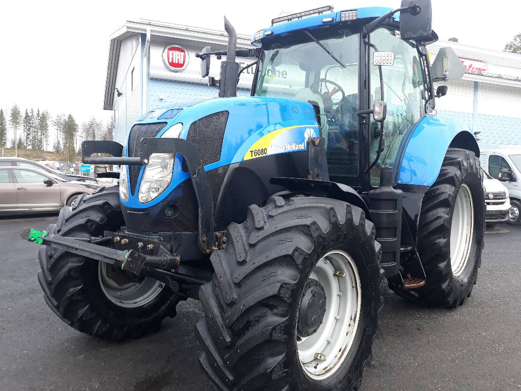 New Holland T6080 RC, Traktorit, Maatalous