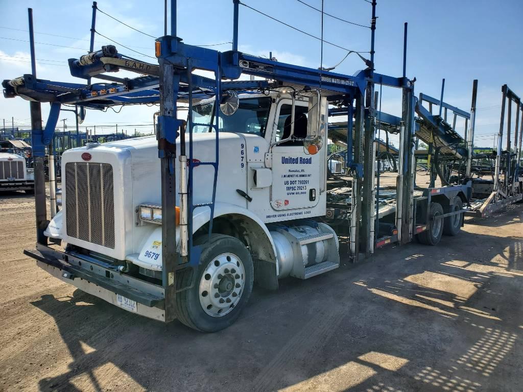 9679 Peterbilt 365, Car Haulers, Trucks and Trailers
