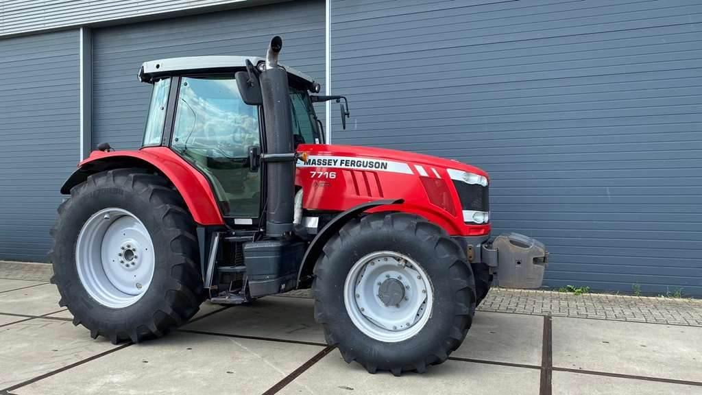 Massey Ferguson 7716, Tractors, Agriculture