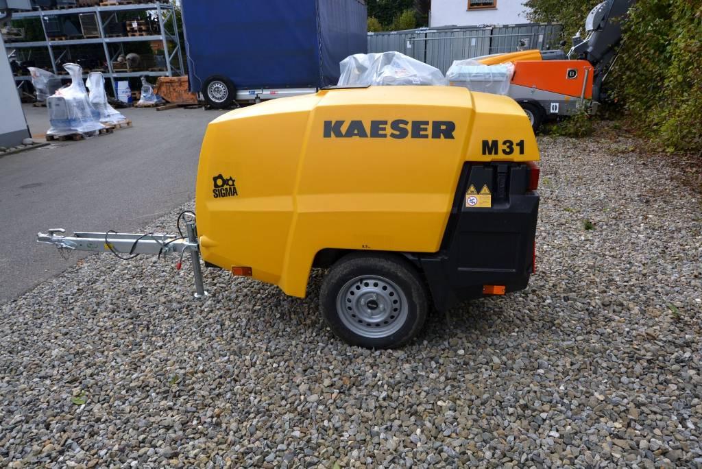 Kaeser M 31 PE, Kompressoren, Baumaschinen