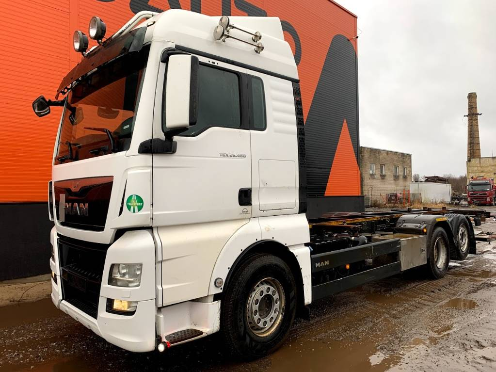 MAN TGS26.480, Container Trucks, Trucks and Trailers