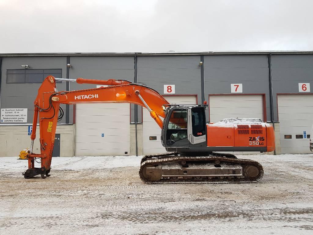 Hitachi ZX350LC-3, Crawler excavators, Construction