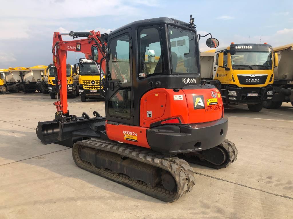 Kubota KX057-4, Mini excavators < 7t (Mini diggers), Construction