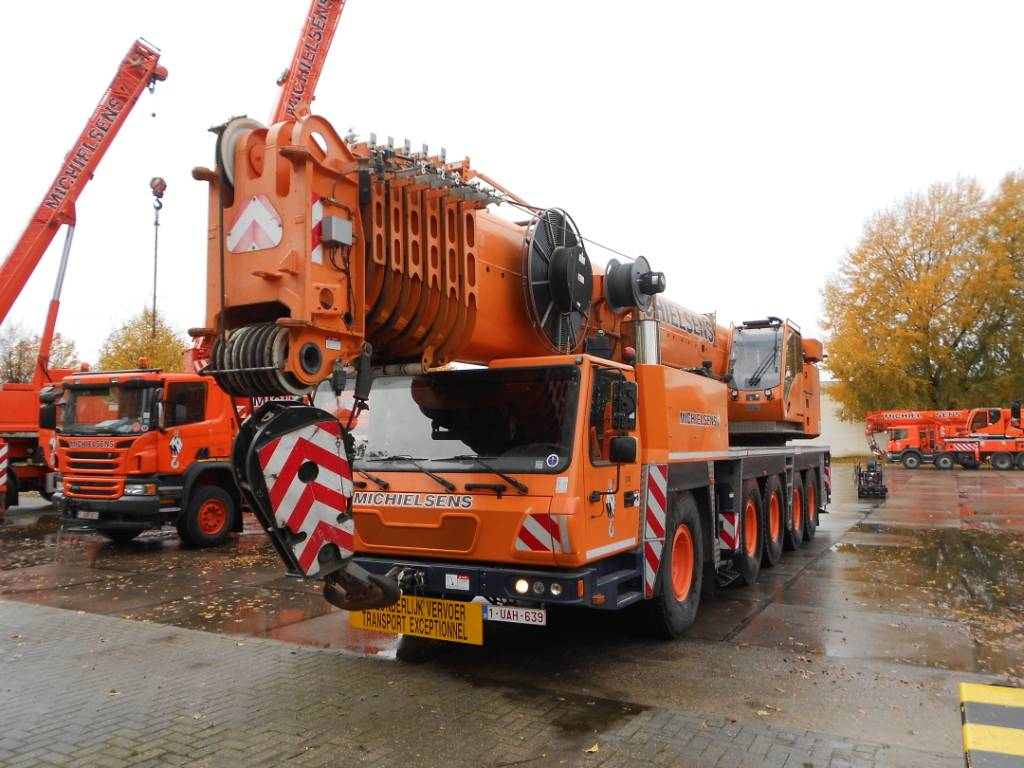Grove GMK 5220, All terrain cranes, Construction