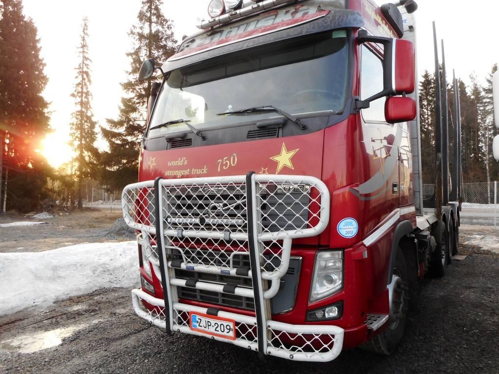 Volvo FH 16 8X4, Puuautot, Kuljetuskalusto