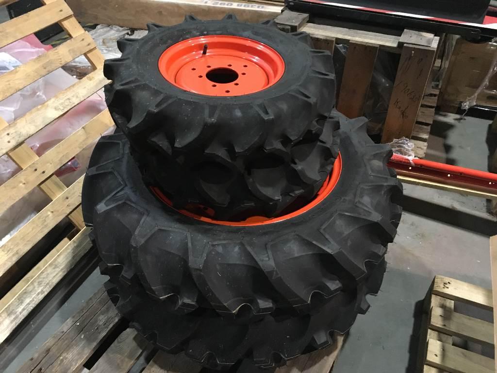 Bridgestone Farm Service LUG, Padangos, ratai ir ratlankiai, Aplinkos tvarkymas