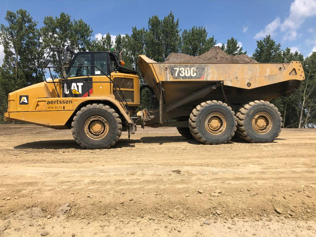 Caterpillar 730C2 (6 pc), Articulated Dump Trucks (ADTs), Construction