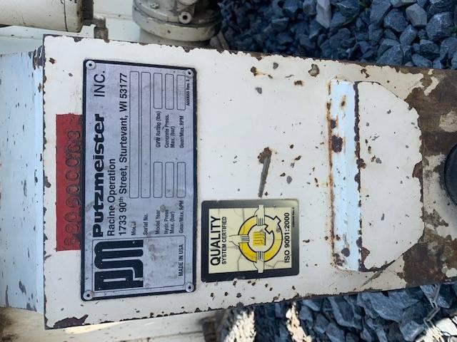 Putzmeister MX 34/38 Placing Boom & Pedestal, Boom Pumps, Construction Equipment