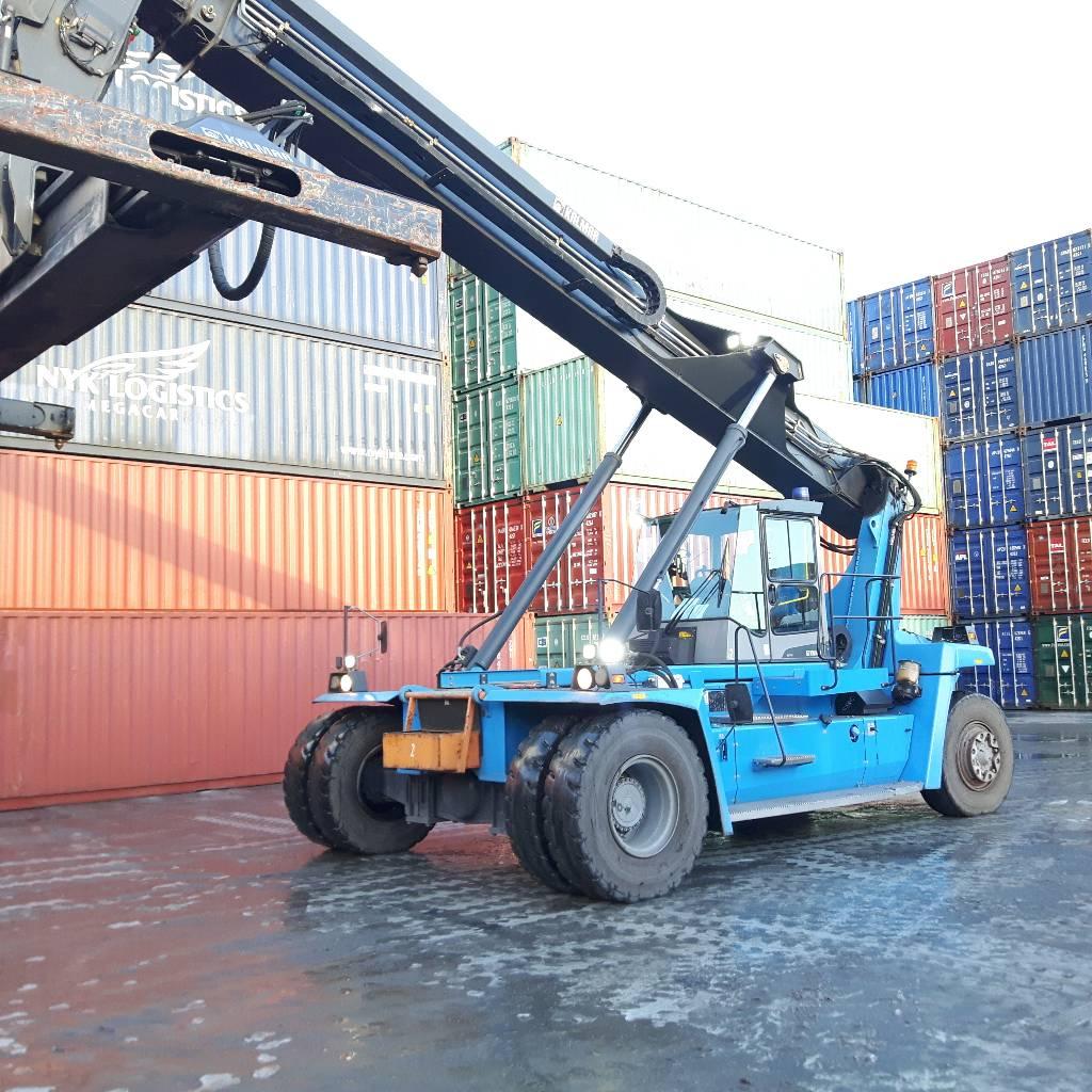Kalmar DRF100-54S6, Reachstackers, Material Handling
