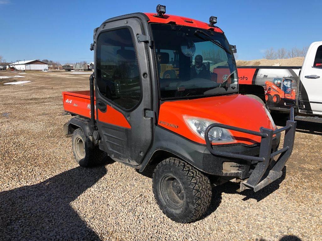 Kubota RTV1100, Utility equipment, Turfcare