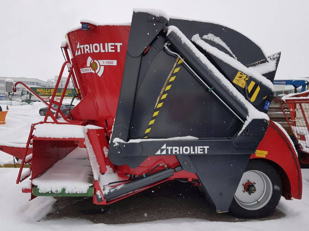 Trioliet Triomix S 1 1000, Voermengwagens zelfladend, Landbouw